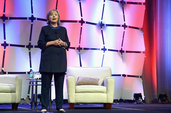 Hillary Rodham Clinton Speaks At CREW Network Convention