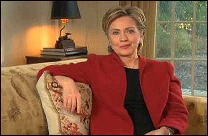 Clinton announces her 2008 presidential campaign