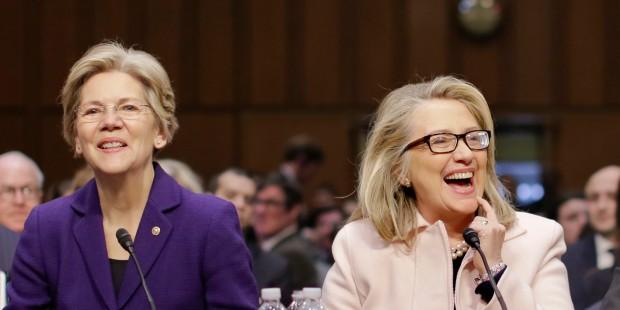 John Kerry, Sen. Elizabeth Warren, Hillary Rodham Clinton, John McCain