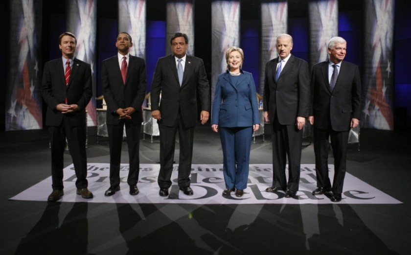 Democratic Debate in Iowa on December 13, 2007