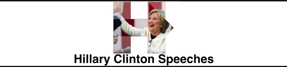 Hillary Clinton Speeches